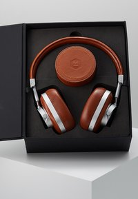 Master & Dynamic - MW60 WIRELESS OVER-EAR - Auriculares - brown/silver-coloured - 3