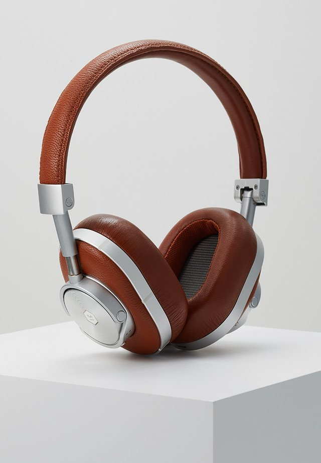 MW60 WIRELESS OVER-EAR - Casque - brown/silver-coloured