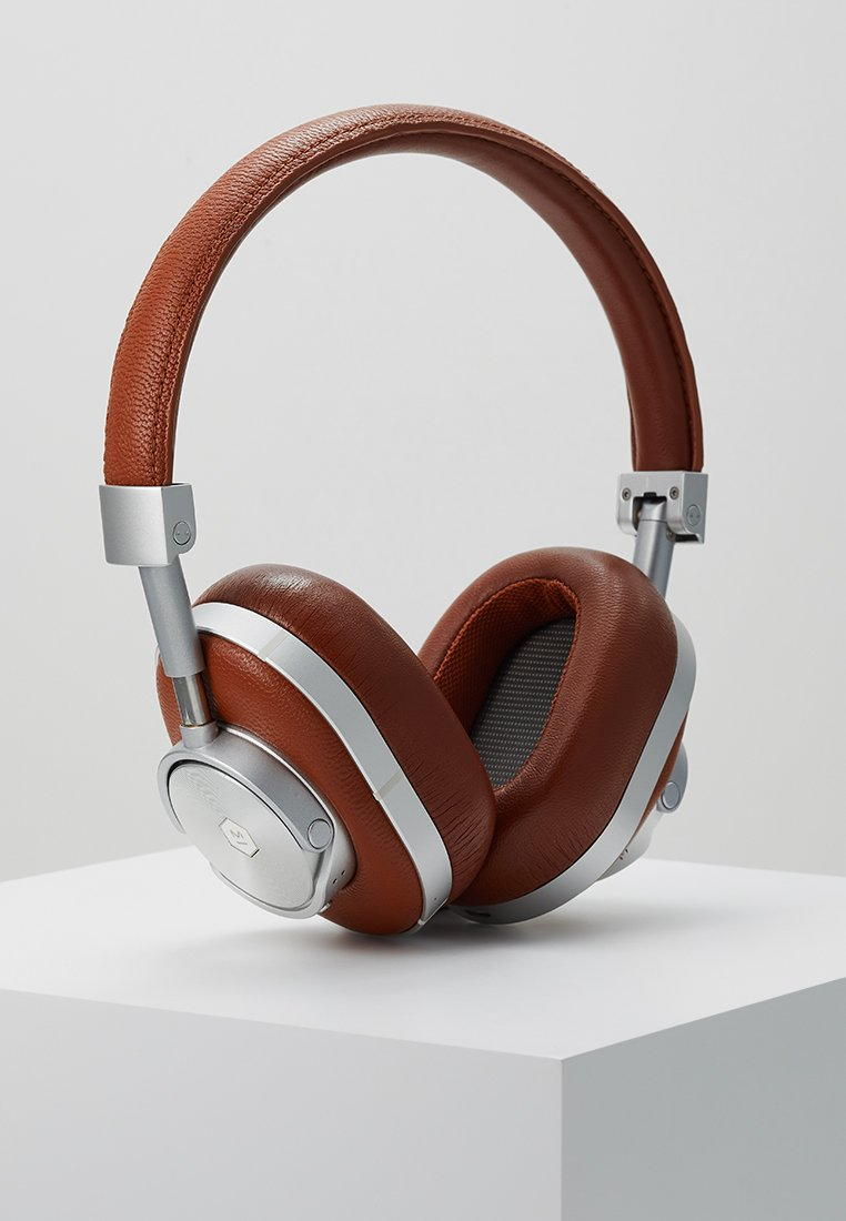 Master & Dynamic - MW60 WIRELESS OVER-EAR - Auriculares - brown/silver-coloured