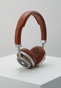 Master & Dynamic - MW50 WIRELESS ON-EAR - Headphones - brown/silver - 0