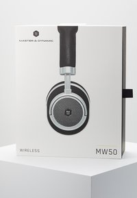 Master & Dynamic - MW50 WIRELESS ON-EAR - Headphones - black/silver-coloured - 4