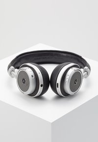Master & Dynamic - MW50 WIRELESS ON-EAR - Headphones - black/silver-coloured - 2