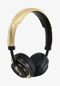 Master & Dynamic - MW50 WIRELESS ON-EAR - Auriculares - black / gold - 1