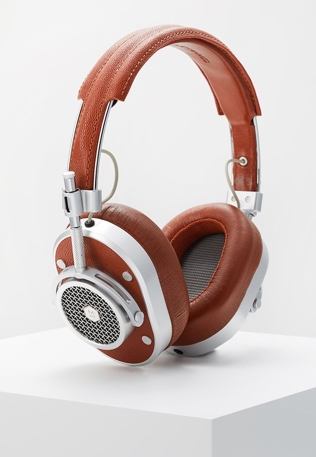 MH40 OVER-EAR - Casque - brown/silver-coloured