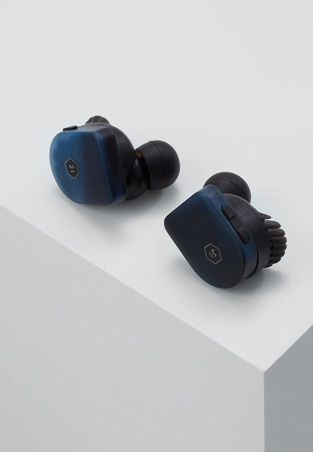 MW07 TRUE WIRELESS EARPHONE - Headphones - steel blue