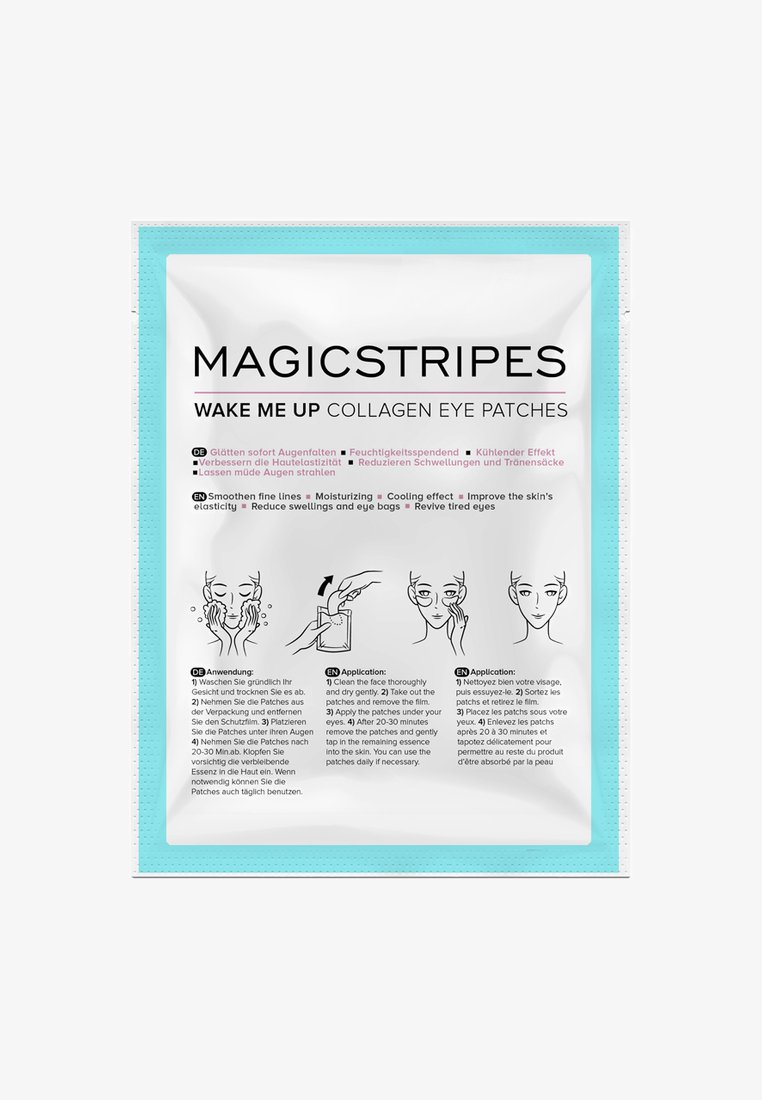 Magicstripes - WAKE ME UP COLLAGEN EYE PATCHES 1 PAIR - Face mask - neutral
