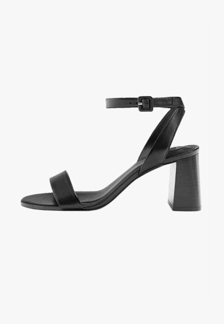 Massimo Dutti - JOIN LIFE - Sandals - black