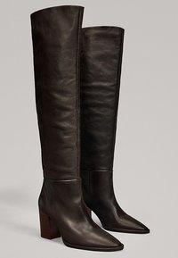 Massimo Dutti - MIT HOLZABSATZ  - Boots - brown - 2