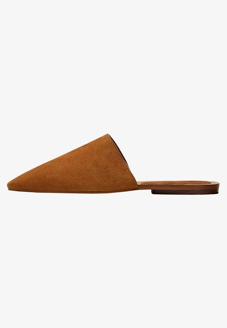 Massimo Dutti - Mules - brown
