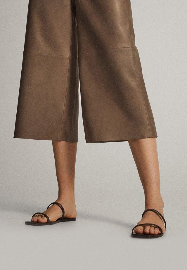 MIT ZWEI RIEMCHEN 11714550 - Slip-ins - brown