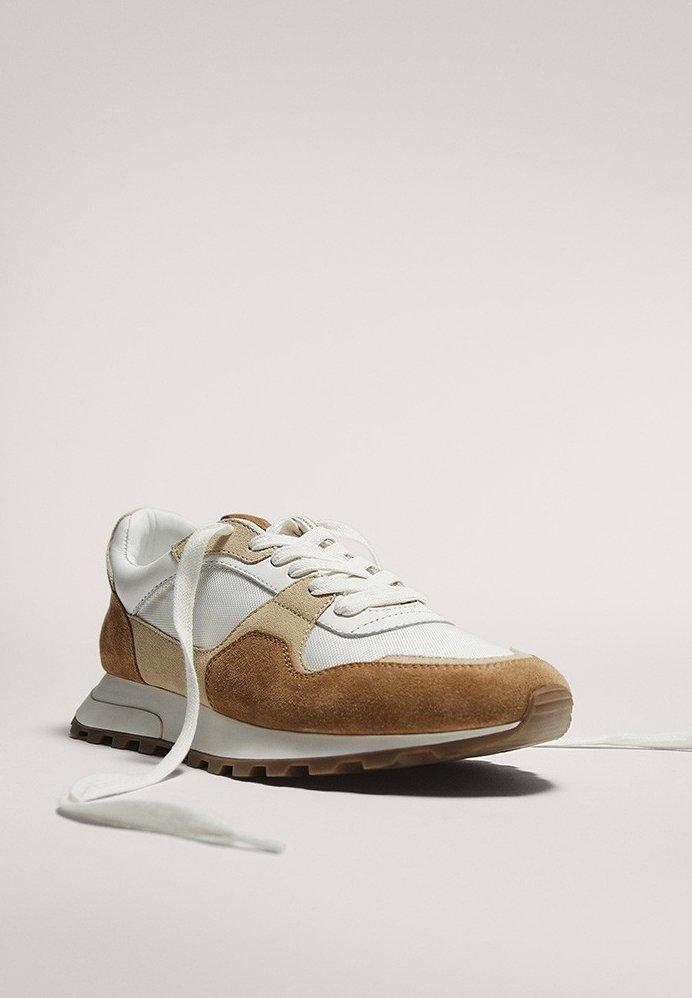 Massimo Dutti MIT PROFILSOHLE - Sneakersy niskie - multi-coloured