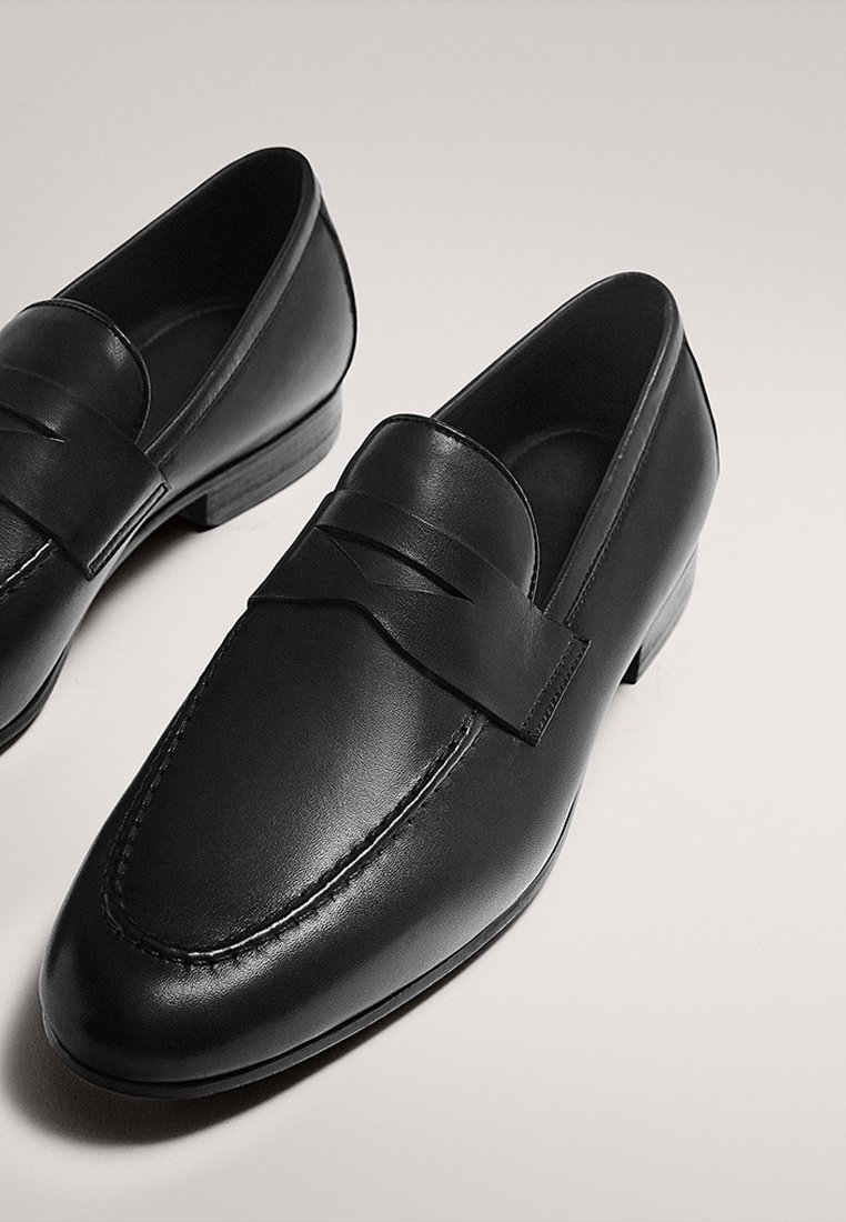 Massimo Dutti Business loafers - black