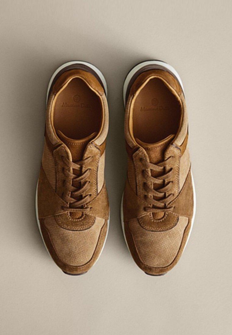 Massimo Dutti Baskets basses brown