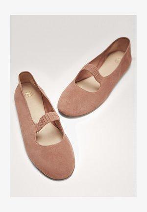 SOFT-TOUCH - Ballet pumps - light pink