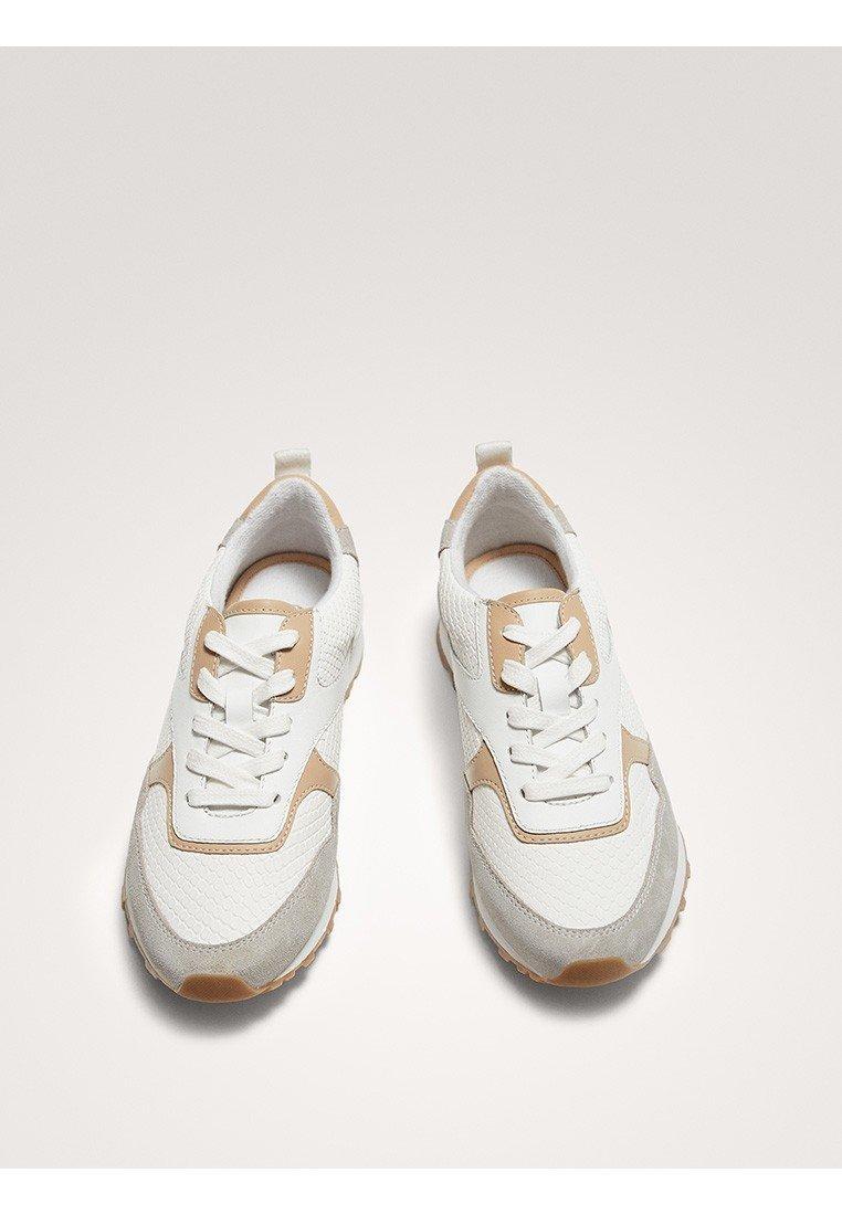 Massimo Dutti MIT PRÄGUNG - Sneakersy niskie - multi-coloured