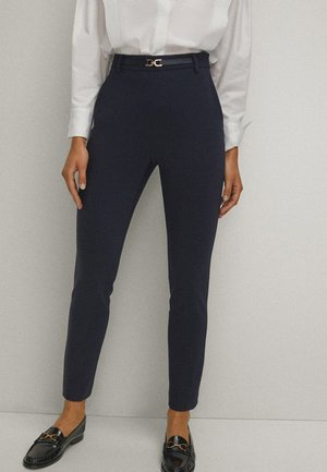 Broek - blue-black denim
