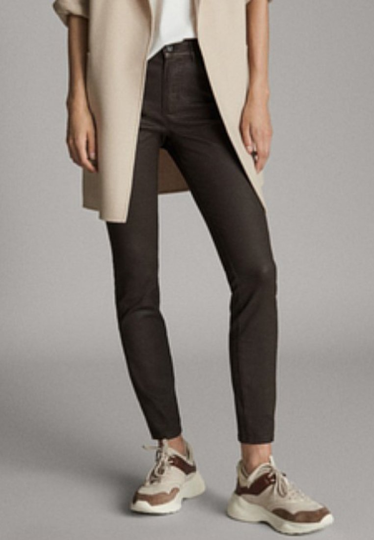 Massimo Dutti - Jeans Skinny Fit - brown