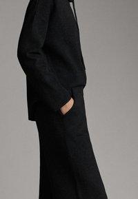 Massimo Dutti - Pantalon classique - dark grey - 3