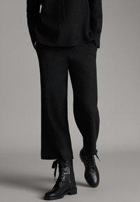 Massimo Dutti - Pantalon classique - dark grey - 0