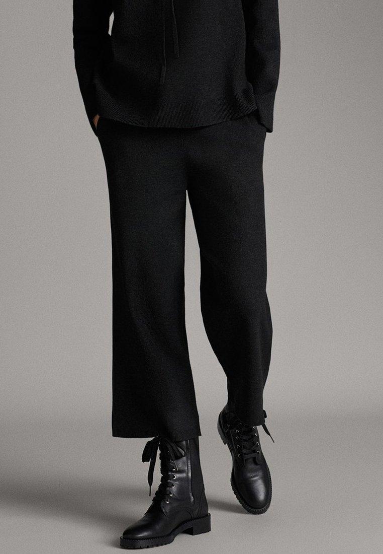 Massimo Dutti - Trousers - dark grey