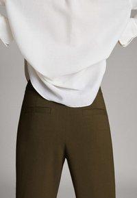 Massimo Dutti - Trousers - green - 4