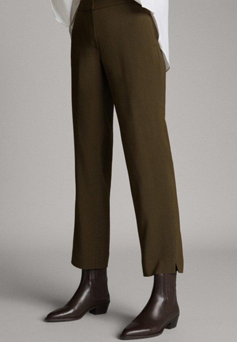 Massimo Dutti - Trousers - green