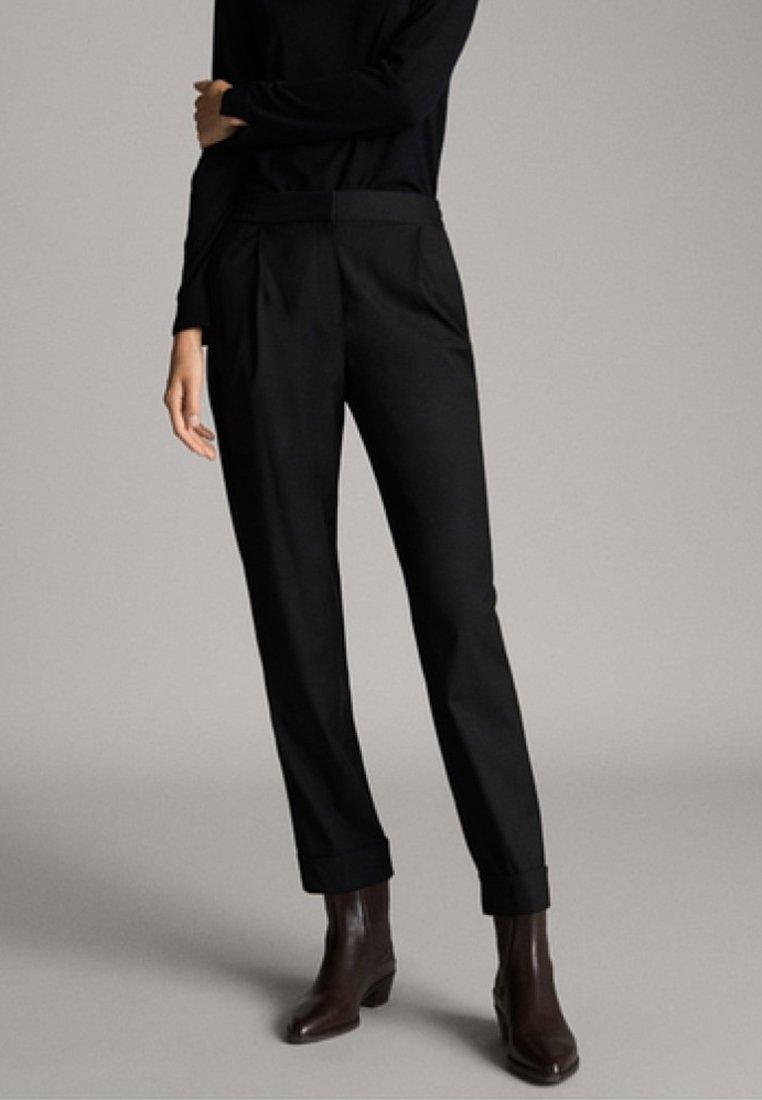 Massimo Dutti - Pantalon de survêtement - black