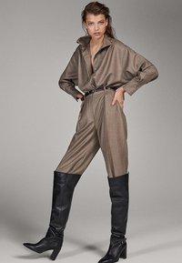 Massimo Dutti - CAMPAIGN COLLECTION - Pantalon classique - dark grey - 3