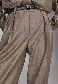 Massimo Dutti - CAMPAIGN COLLECTION - Pantalon classique - dark grey - 5