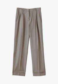 Massimo Dutti - CAMPAIGN COLLECTION - Pantalon classique - dark grey - 7