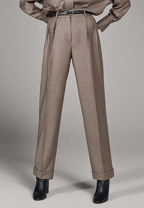 Massimo Dutti - CAMPAIGN COLLECTION - Pantalon classique - dark grey