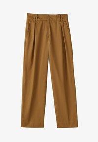 Massimo Dutti - LIMITED EDITION - Pantalon classique - brown - 6