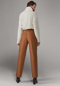 Massimo Dutti - LIMITED EDITION - Pantalon classique - brown - 2