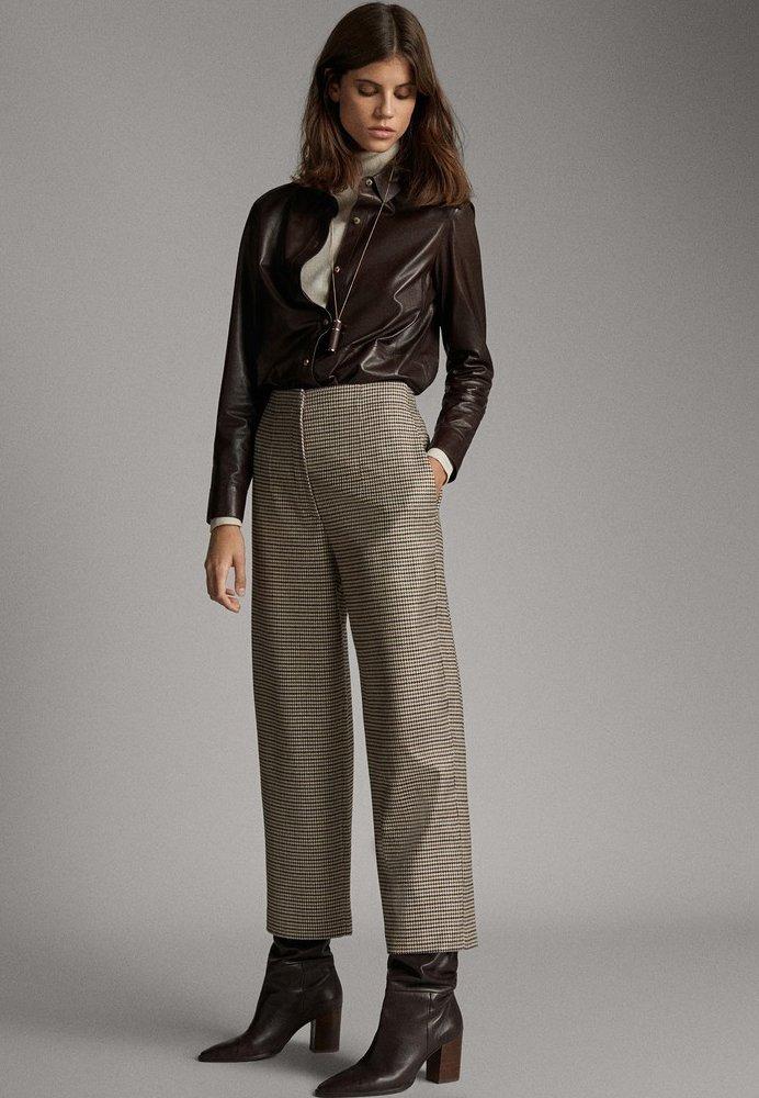 Massimo Dutti - Pantalon classique - brown