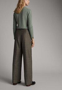 Massimo Dutti - Pantalon classique - olive - 2