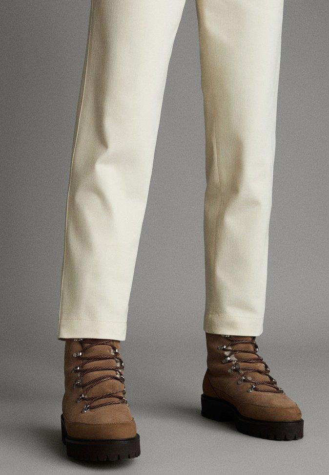 Massimo Dutti APRES SKI COLLECTION - Pantaloni white