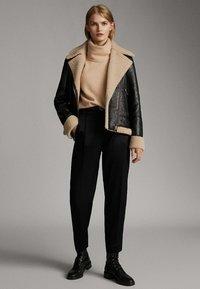 Massimo Dutti - Trousers - black - 5