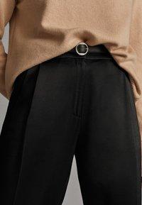 Massimo Dutti - Pantalon classique - black - 3