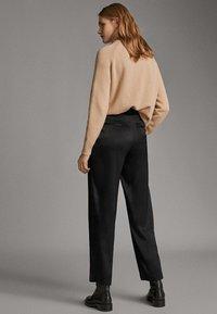 Massimo Dutti - Pantalon classique - black - 1