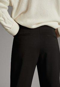Massimo Dutti - Pantalon classique - black - 6