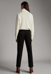 Massimo Dutti - Pantalon classique - black - 2