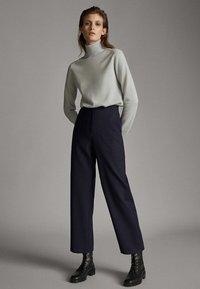 Massimo Dutti - Spodnie materiałowe - blue - 1