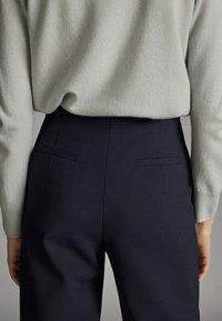 Massimo Dutti - Spodnie materiałowe - blue - 4
