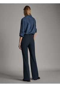 Massimo Dutti - Spodnie materiałowe - blue - 2