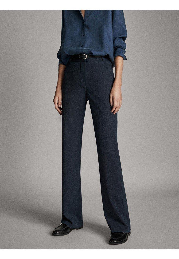Massimo Dutti - Spodnie materiałowe - blue