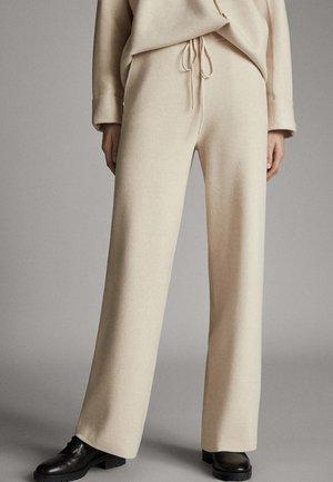 FLIESSENDE JOGGERHOSE 05072807 - Pantaloni sportivi - beige