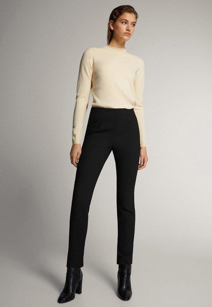 Massimo Dutti - 05041542 - Trousers - black
