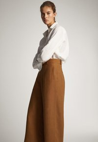 Massimo Dutti - Trousers - brown - 4