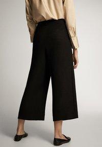 Massimo Dutti - Trousers - black - 2