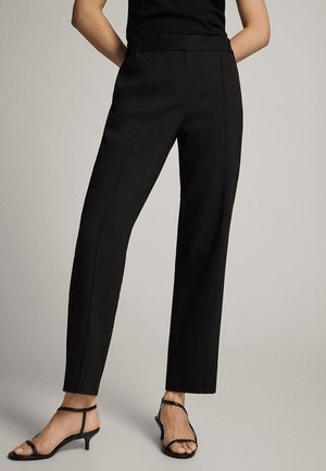 IM JOGGING-FIT - Pantalon classique - black